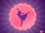 Link toDance button vector free