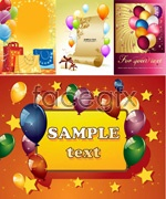Link toDancing balls festival poster vector