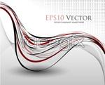 Link toDancing lines vector