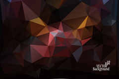 Link toDark abstract geometric background vector