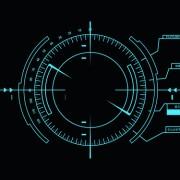 Link toDark blue futuristic concept background vector 01 free