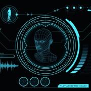 Link toDark blue futuristic concept background vector 02 free