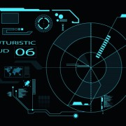 Link toDark blue futuristic concept background vector 03 free
