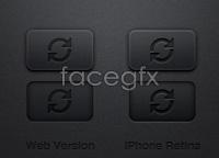 Link toDark button template