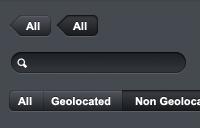 Link toDark buttons, tooltips, tabs, ui elements psd