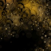 Link toDark color floral with golden glow vector background 02 free