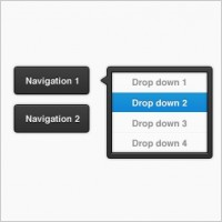 Link toDark dropdown and buttons