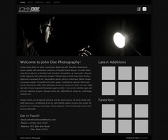 Link toDark photography web template