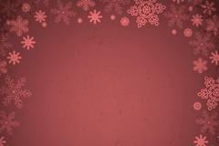 Link toDark red snowflakes border background vector
