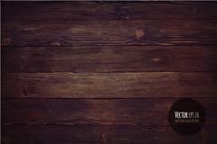 Link toDark wood grain background vector