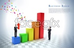 Link toData analysis of business people psd