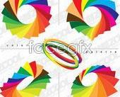 Link toDazzling color paper vector