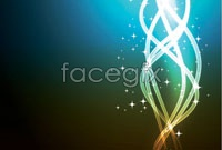 Link toDazzling light background vector free