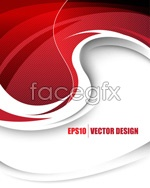 Link toDazzling red background vector