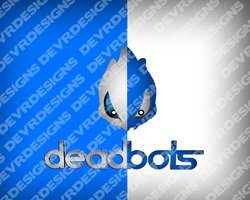 Link toDead-bots gaming logo design