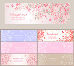 Link toDecorative banners vector
