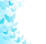 Link toDecorative butterfly background vector