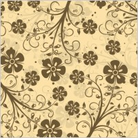 Link toDecorative floral pattern vector