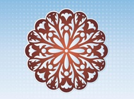 Link toDecorative flower vector free