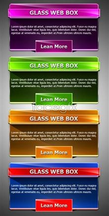 Link toDecorative multi color web page module psd
