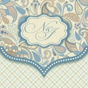 Link toDecorative pattern floral art background vector 01 free