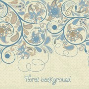 Link toDecorative pattern floral art background vector 02 free