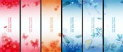 Link toDecorative pattern vector banner templates