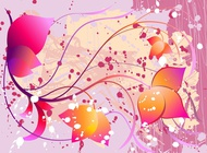 Link toDecorative vector flowers free