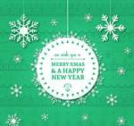 Link toDecoupage christmas background vector