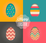 Link toDecoupage easter eggs background vector