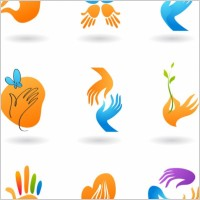 Link toDeformed hand icon vector