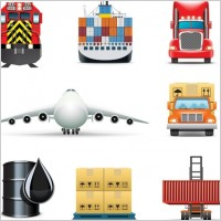 Link toDelicate cargo icon 01 vector