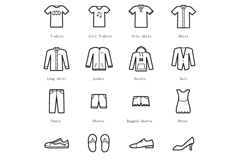Link toDelicate clothing icon vector