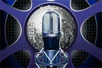 Link toDelicate microphone vector
