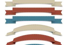 Link toDelicate ribbon design vector
