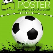 Link toDelicate soccer poster background vector graphics 02 free