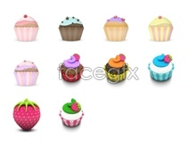 Link toDelicious cake icons