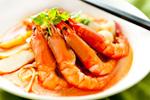 Delicious shrimp psd