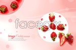 Link toDelicious strawberry desserts psd