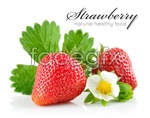 Link toDelicious strawberry psd