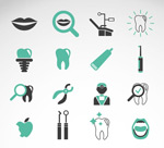 Link toDental icon vector