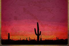 Link toDesert cactus background vector