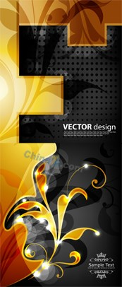 Link toDesign gold pattern vector