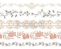 vector background pattern korea Design