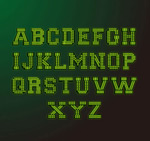 Link toDesign of neon letters vector