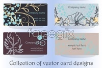 Link toDesign patterns card template vector