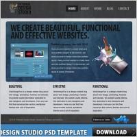 Link toDesign studio free psd template
