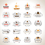 Link toDessert food icons vector
