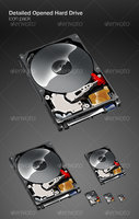 Link toDetailed opened hard drive