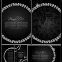 Link toDiamond decorative background vector